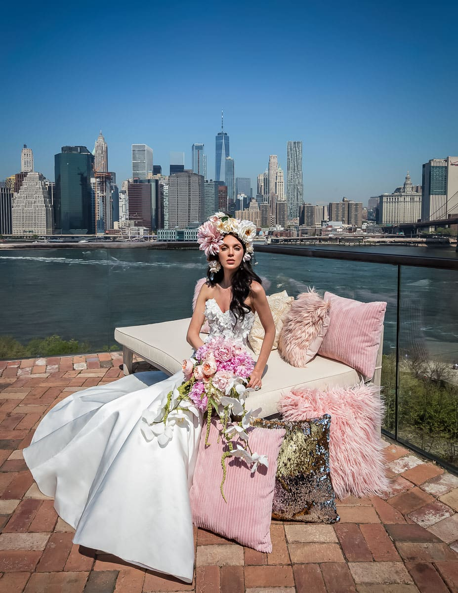 New York Wedding Hair & Makeup Artist for Destination Weddings and Bridal Couture Fashion Stylist - BridalGal New York City