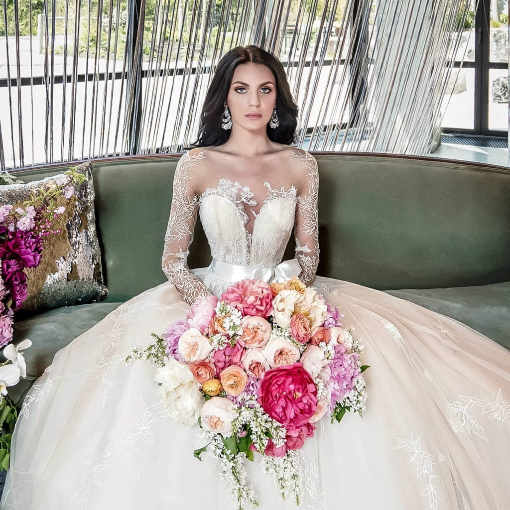 New York Wedding Hair & Makeup Artist for Luxury Weddings - Bridal Fashion Stylist for Couture Wedding Gowns - BridalGal New York City