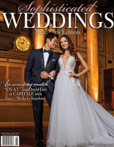 New York Hair & Makeup Artist New York - Bridalgal Lilly Rivera - David Lim & Marketa Kazdova for Sophisticated Weddings Magazine