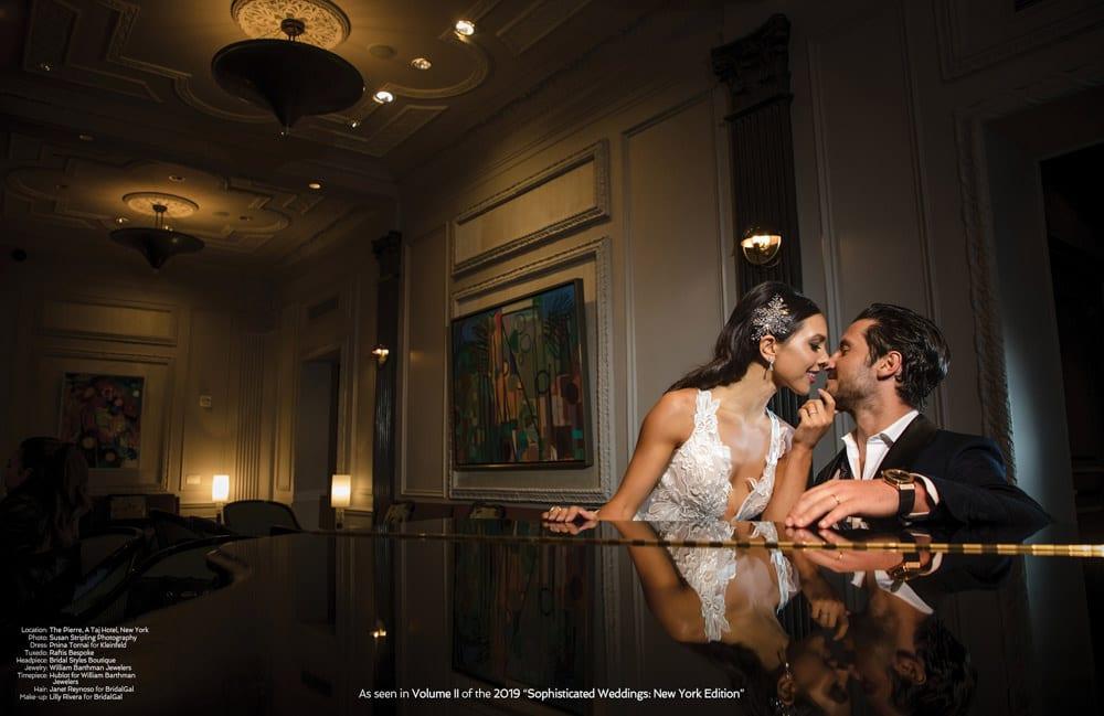 Sophisicated Weddings Magazine - BridalGal Makeup Artist - New York